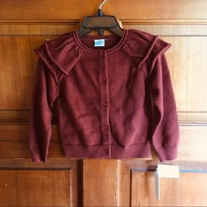Edgehill Collection Rust Brown Cardigan NWT